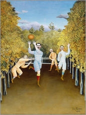 Gallery print  the football players - Henri Rousseau