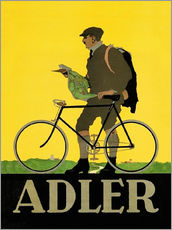 Muursticker  Adler Bicycles - Advertising Collection