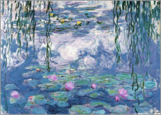 Gallery print  Waterlelies - Claude Monet
