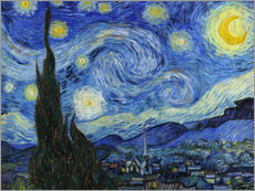 Canvas print  De Sterrennacht - Vincent van Gogh
