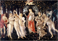 Muursticker  The Spring - Sandro Botticelli