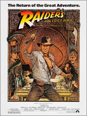 Muursticker  Indiana Jones - Raiders of the lost ark
