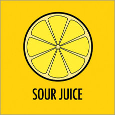Muursticker Sour Juice