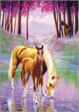 Gallery print  Horse and foal - Andrew Farley