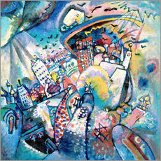 Gallery print  Moscow. Red Square - Wassily Kandinsky