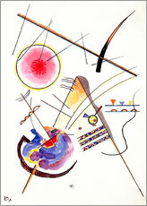 Gallery print  Watercolor from the Hess Guest Book - Wassily Kandinsky