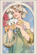Gallery print  Flower, nature - Alfons Mucha