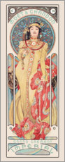 Gallery print  Moet & Chandon, Dry Imperial - Alfons Mucha