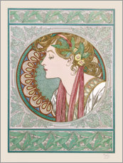 Gallery print  Laurier - Alfons Mucha
