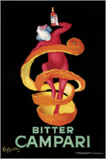 Canvas print  Bitter Campari - Leonetto Cappiello