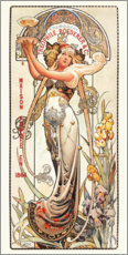 Acrylglas print  Champagne Theophile Roederer & co - Louis Theophile Hingre
