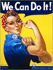 Gallery print  We Can Do It! - Advertising Collection