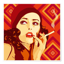 Premium poster  Your 20s to 60s Girl - JASMIN!