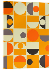 Acrylglas print  Panton orange - MiaMia
