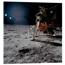Acrylglas print  Apollo 11 Moon Walk