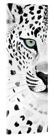 Acrylglas print  The leopard - panorama - Annett Tropschug