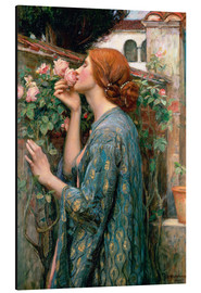 Aluminium print  De ziel van de Rose - John William Waterhouse
