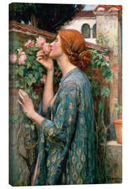 Canvas print  De ziel van de Rose - John William Waterhouse