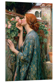 PVC print  De ziel van de Rose - John William Waterhouse