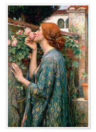 Premium poster  De ziel van de Rose - John William Waterhouse