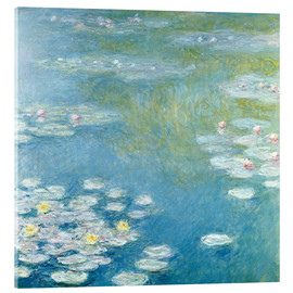 Acrylglas print  Nympheas at Giverny - Claude Monet