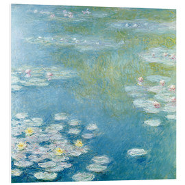 PVC print  Nympheas at Giverny - Claude Monet