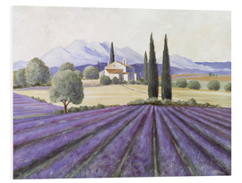 PVC print  Lavender Fields - Franz Heigl