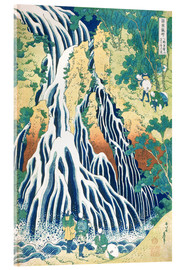 Acrylglas print  The Kirifuri Waterfall at Mt. Kurokami - Katsushika Hokusai
