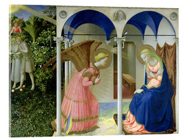 Acrylglas print  The Annunciation - Fra Angelico