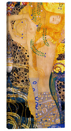 Canvas print  Waterslangen I - Gustav Klimt