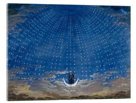 Acrylglas print  The Palace of the Queen of the Night - Karl Friedrich Schinkel
