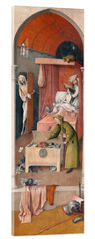 Acrylglas print  Death and the Miser - Hieronymus Bosch