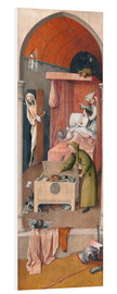 PVC print  Death and the Miser - Hieronymus Bosch
