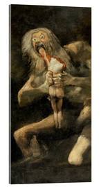 Acrylglas print  Saturn devouring one of his children - Francisco José de Goya