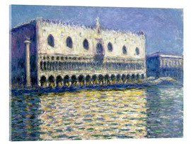Acrylglas print  The Ducal Palace - Claude Monet
