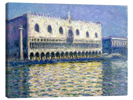 Canvas print  The Ducal Palace - Claude Monet