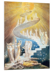 PVC print  Jacob's ladder - William Blake