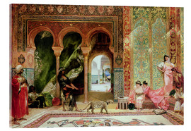 Acrylglas print  A Royal Palace in Morocco - Constant