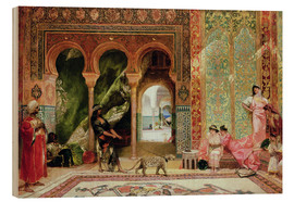 Hout print  A Royal Palace in Morocco - Constant