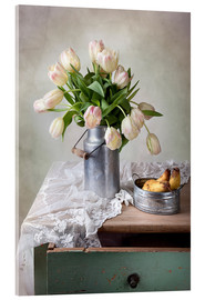 Acrylglas print  Still life with tulips - Nailia Schwarz