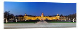Acrylglas print  Panoramic view of palace Karlsruhe Germany - Fine Art Images