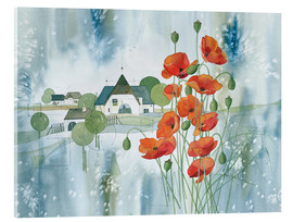 Acrylglas print  Poppy flower - Franz Heigl