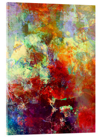 Acrylglas print  Stained paint - Wolfgang Rieger