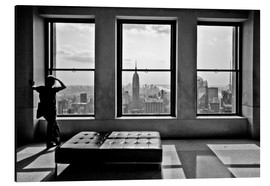 Aluminium print  New York - Top of the Rock - Thomas Splietker