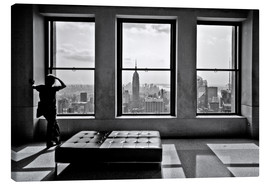 Canvas print  New York - Top of the Rock - Thomas Splietker