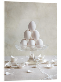 Acrylglas print  Still Life with Eggs - Nailia Schwarz
