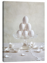Canvas print  Still Life with Eggs - Nailia Schwarz