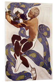 PVC print  Afternoon of a Faun - Leon Nikolajewitsch Bakst