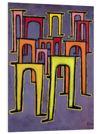 PVC print  Revolution of the Viaduct - Paul Klee