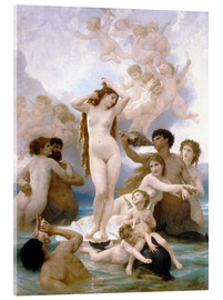 Acrylglas print  Birth of Venus - William Adolphe Bouguereau